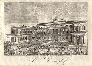 Villa_San_Donato_(1822_print)